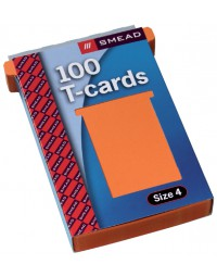 Planbord t-kaart jalema formaat 4 107mm oranje