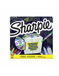 Viltstift sharpie 0,5 en 0,9mm + gratis cadeaulabels