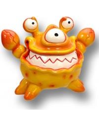 Crab de krab - Kleurrijke Spaarpot – dieren Spaarpot/ Money bank - Stimulans om te sparen - spaarpot voor dierenvriend en kinderspaarpot
