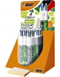 Bic® 4 colours® velours balpen