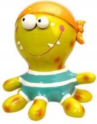 Octopus - Inktvis - Kleurrijke Spaarpot – dieren Spaarpot/ Money bank - Stimulans om te sparen - spaarpot voor dierenvriend en kinderspaarpot
