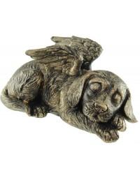Hond overleden Urn brons (25.5 cm)