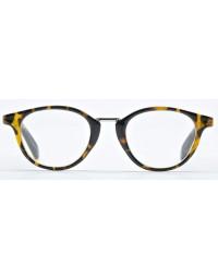 Leesbril Harnosand Nordic Projekt bruin zwart sterkte +3.00