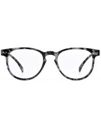 Leesbril Lindesberg Nordic Projekt zwart grijs sterkte +2.50